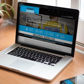 Security 2000 Ltd launch their new website in conjunction with Kubiak Creative!